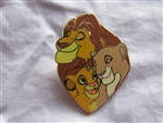 Disney Trading Pin 102528: Disney Parks - The Lion King Family - Mufasa, Sarabi and Simba