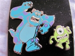 Disney Trading Pin 103266: Monster University Mike and Sully Running