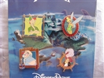 Disney Trading Pin 103829: Peter Pan Booster Set