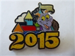 Disney Trading Pin 106964: WDW - 2015 Dated - Figment