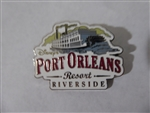 Disney Trading Pins 108214 Port Orleans Resort Riverside with riverboat