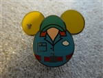 Disney Trading Pin 108467 WDW - 2015 Hidden Mickey Series - Cast Member Costumes - Muppet Vision 3D