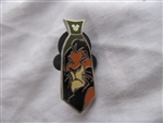 Disney Trading Pin 108485 WDW/DLR - 2015 Hidden Mickey Series - Villain Neckties - Scar