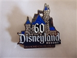 Disney Trading Pin 109193 DLR - Diamond Celebration Event - 60th - Jeweled Castle Pin