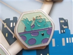Disney Trading Pin 109357 HKDL Fun Day 2015 - Hidden Mickey Magical Ferris (Sulley Only)