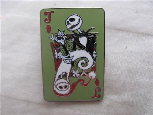 Trading Pin 110361 Nightmare Before Christmas - Playing Card ...