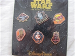 Disney Trading Pin 111210 Star Wars, The Force Awakens, booster set