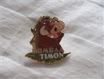 Disney Trading Pins 11172 12 Months of Magic - Pumbaa and Timon