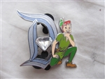 Disney Trading Pin 111876 Disneyland 60th Pin of the Month Diamond D Peter Pan