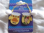 Disney Trading Pins 112085 WDW - Holiday Mitten Resort Collection 2015 - Grand Floridian Resort and Spa