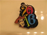 Disney Trading Pin 113165 2016 Dated Booster - Woody only