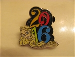 Disney Trading Pin  113166 2016 Dated Booster - Rapunzel only