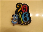 Disney Trading Pin 113169 2016 Dated Booster - Genie only