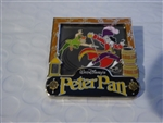 Disney Trading Pin 113179 December 2015 Park Pack - Peter Pan and Captain Hook
