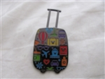 Disney Trading Pin 114144 Mickey Pullman Suitcase