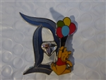 Disney Trading Pin  114507 DLR - 60th Pin of the Month - Diamond D - Pooh
