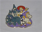 Disney Trading Pin 116621 Jessie with Trixie and Buttercup - Toy Story 3