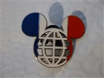 Disney Trading Pin 116979 Mickey Icon France Flag Lattice