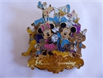 Disney Trading Pin 119058 Shanghai Disney Resort Grand Opening Jumbo