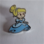 Disney Trading Pin 119515 Cute Stylized Princesses Booster Set - Cinderella Only