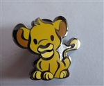Cute Stylized Characters Mystery Pin Pack - Simba