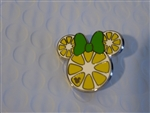 Disney Trading Pin 119767 DLR - 2017 Hidden Mickey - Minnie Fruit Icons - Lemon Slice