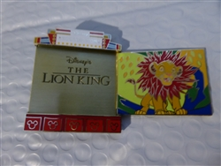 Disney Trading Pin 121273 WDW - 2017 Quarterly Collection - Disney Recollections - Lion King