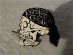 Disney Trading Pin 121351 Pirates of the Caribbean - Skull Profile