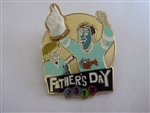 Disney Trading Pin 122298 Father's Day 2017 - Inside Out - Riley and Dad