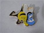 Disney Trading Pins 125311 Aladdin Icons (4 pins) - Genie Bee Only