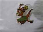 Disney Trading Pin 125356 The Lion King Icons (4 pins) - Timon Hula Dancing
