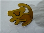 Disney Trading Pin 125388 The Lion King Icons (4 pins) - Simba Symbol only