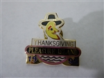 Disney Trading Pin 12870 WDW - Pleasure Island Cast 1995 Thanksgiving Pin