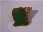 Disney Trading Pin  13026 DS - 12 Months of Magic Calendar Series (August / Tigger)