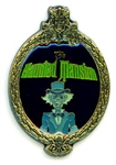 Disney Trading Pins Haunted Mansion Oval Frame (Ezra Ghost)