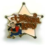 Disney Trading Pins 1362: DLR - Disneyland 30th Anniversary Series (Pete / Frontierland) Non-Pointed