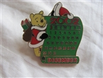 Disney Trading Pin  16387: DS - 12 Month of Magic Calendar Series (December / Winnie the Pooh)
