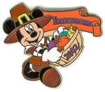 Disney Trading Pin 12 Months of Magic - Thanksgiving 2002 (Mickey)