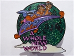 Disney Trading Pin 16660 Magical Musical Moments - A Whole New World (Green) Musical