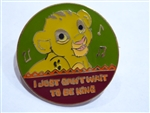 Disney Trading Pin 17844 Magical Musical Moments - I Just Can't Wait to Be King