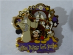 Disney Trading Pin  17948 WDW - New Year's Eve 2002 with Fab 3 (3D)