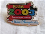 Disney Trading Pin 20641: WDW - Kodak Creating Magical Memories 2003