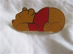 Disney Trading Pin 22495: Simple Series (Pooh Laying Down)