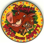 Disney Trading Pins Disney's Wild About Safety (Logo Pin)