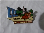 Disney Trading Pins Wild about Safety - No Stampeding