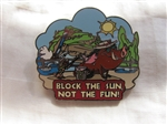 Disney Trading Pin 22560: Wild about Safety - Block the Sun, Not the Fun