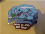 Disney Trading Pins 22564 Wild about Safety - Paws Behind the Line