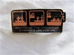 Disney Trading Pins 30080 WDW - Ride Series (Pirates of the Caribbean/A Pirate's Life for Me)