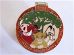 Disney Trading Pin 32132 WDW - Where the Magic Lives 2004 (Simba, Timon, and Pumbaa) Annual Passholder Exclusive