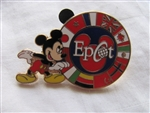 Disney Trading Pins 3414: WDW - Mickey with Epcot Circle of Flags (Color Error)